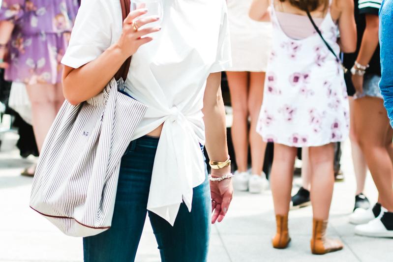 nordstrom front tie blouse
