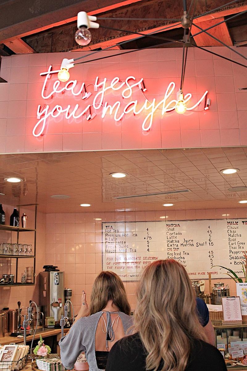 Alfred Tea Room Los Angeles
